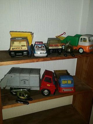 lote de juguetes antiguos variados