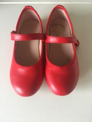 Zapato mercedita de piel numero 29