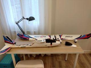 Avión RC Bixler 3 + APM 2.8
