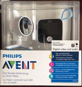 Intercomunicador bebé digital audio y vídeo