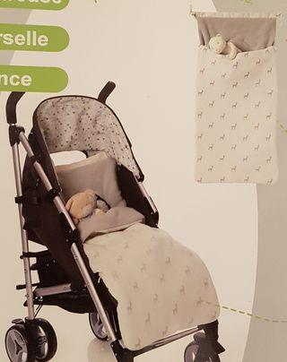 Saco nido bebe para silla de paseo