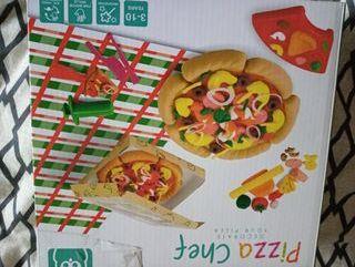 juegos molde plastilina pizza nuevo