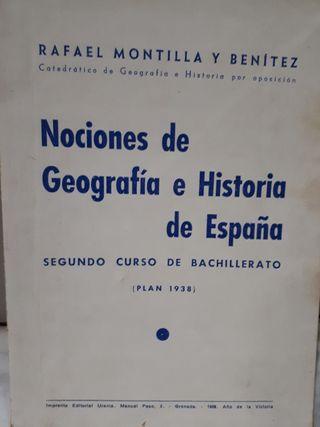 3 Libros de texto bachillerato años 30