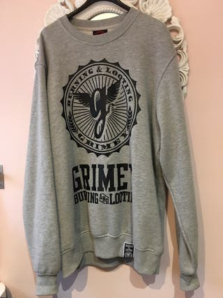 Sudadera gris Grimey T M