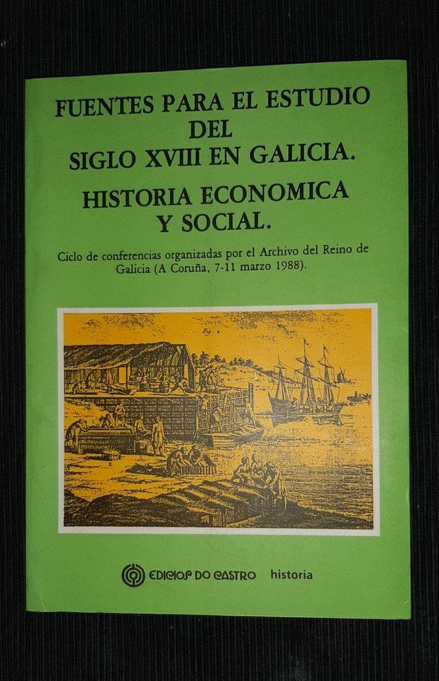 Fuentes para el estudio del s. XVIII en Galicia