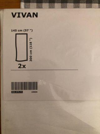 Cortinas Ikea VIVAN