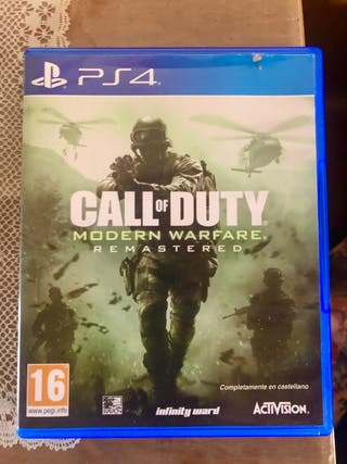 CALL OF DUTY REMASTERED - PS4