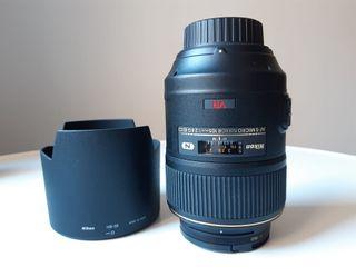 Objetivo Nikon Micro-Nikkor 105 mm f/2.8 G IF-ED