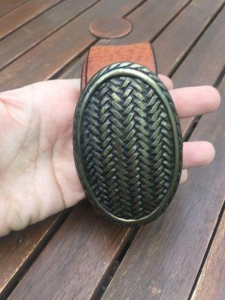 Cinturón de cuero Massimo Dutti