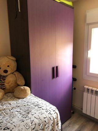cama nido,armario y estantería