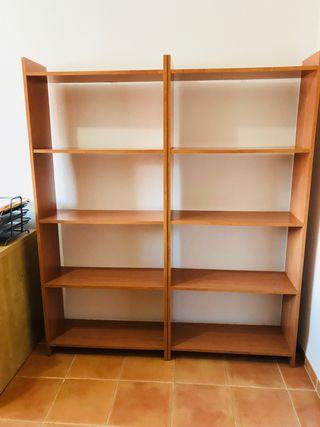 2 Estanterías librerías