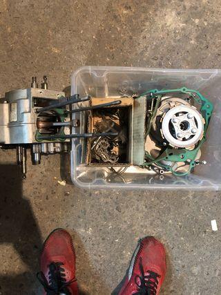 Despiece motor z160 pitbike