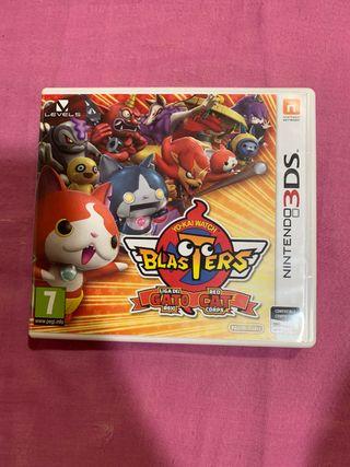 Yo-kai watch gato rojo nintendo 3ds