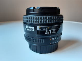Objetivo NIKON AF NIKKOR 50 mm F/1.4 D