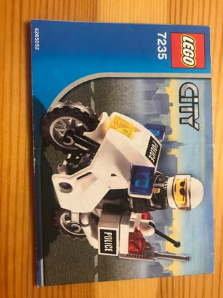 Lego pack policia