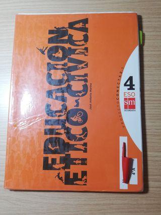 libro de educación ético cívica 4°Eso
