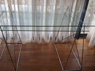 Mesa cristal estudio