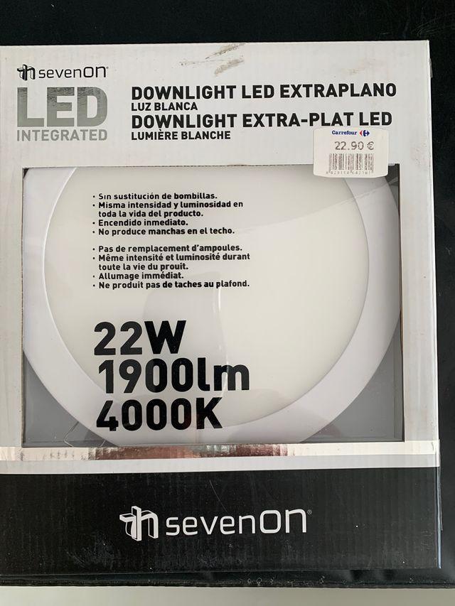 Downlight led extra plano 22w