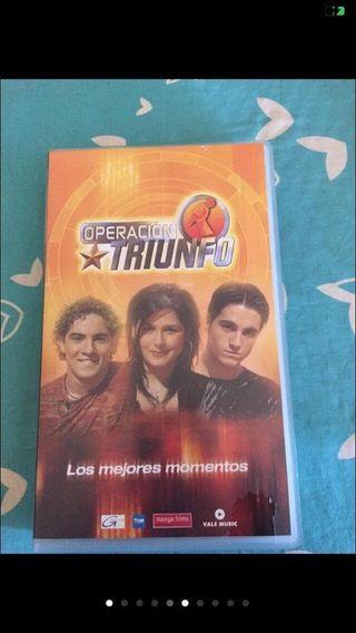 Película VHS, operación Triunfo