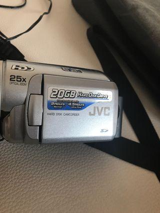 Cámara vídeo JVC