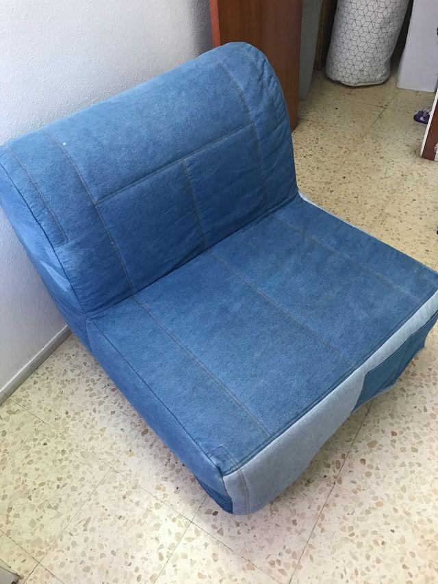 Sillon cama / Ikea. Cama plegable. Muy comoda