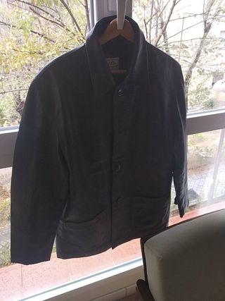 chaqueta cazadora cuero F & Co hombre talla L