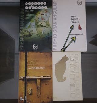 Lote 4 novelas finas BOLSILLO