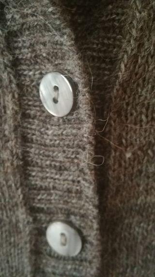 Jersey largo con lana