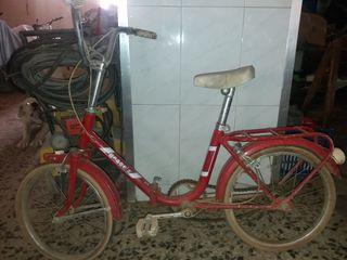 bicicleta antigua paseo niño