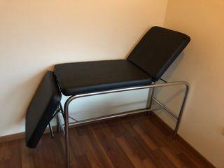 Magnífica camilla de masajes reclinable