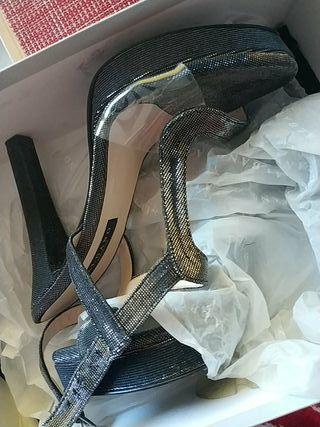 Sandalias con tacón de fiesta / boda