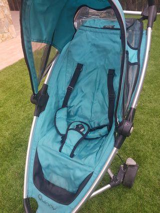 carrito bebé Quinny + funda + protector lluvia