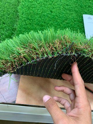 Césped artificial modelo Nerja Leroy Merlín 50 mm