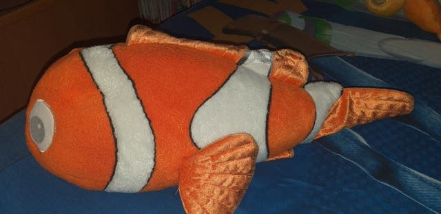 Peluches Nemo y Dory