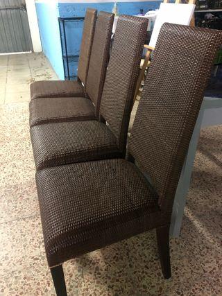 4 sillas nuevas