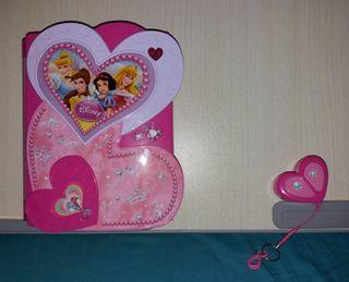 Diario secreto Electrónico de Princesas Disney