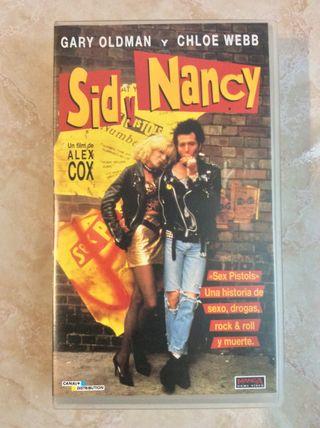 Película VHS Sid y Nancy