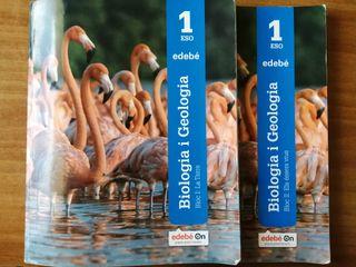 Libros Biología y Geología 1 eso