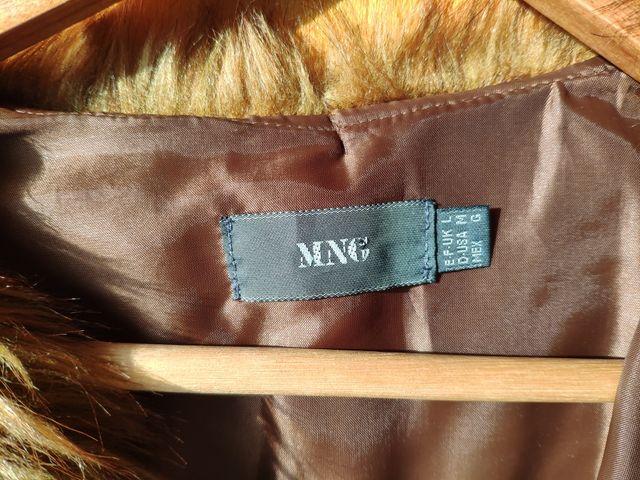 Mango Chaqueta Mujer Pelo abrigo