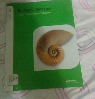 biologia y geologia,practicas de laboratorio 3 eso