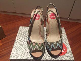 Sandalías tacón Exé