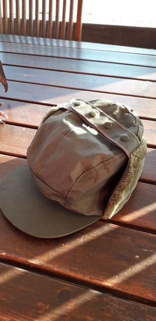 Gorra cazador felpa