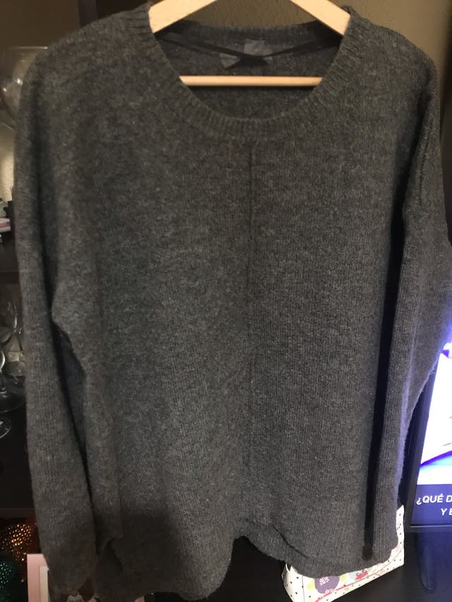 Jersey gris oscuro