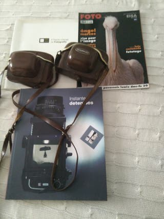 cámaras analógicas Kodak y voighlander