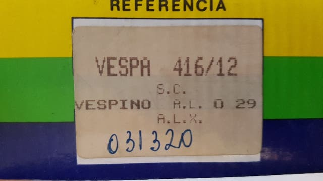 Carburador Vespino ALX