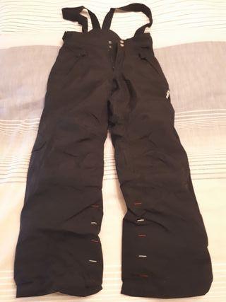 Pantalon ski para niños talla 8 años
