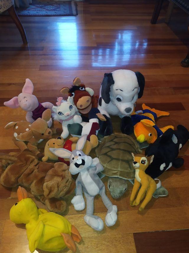 Coleccion peluches disney y animales