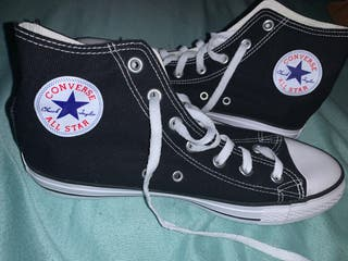Converse all star negras/blancas nuevas