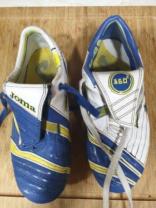 Botas de fútbol niño JOMA talla 34