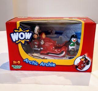 Moto Nieve Artic Archie, juguete